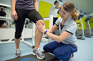 Behandlung in der Physiotherapie